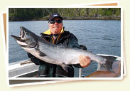 Salmon fishing charters - Prince Rupert, BC, Canada