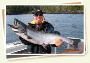 Salmon fishing charters - Prince Rupert, BC, Canada